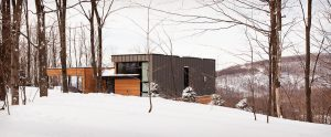 Winter in Quebec - Shefford Cottage