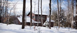Winter in Quebec - Eastman Cottage