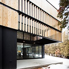 Constructions Boivin | acdf* architecture | Georgeville
