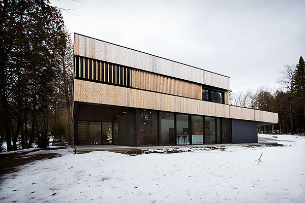 Constructions Boivin | acdf* architecture | Georgeville